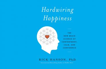 The cover for the book Hardwiring Hapiness